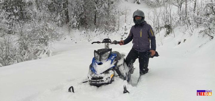 il-volonteri-CK Ivanjička sela okovana snegom- Branislav pet dana nije mogao da izađe iz kuće