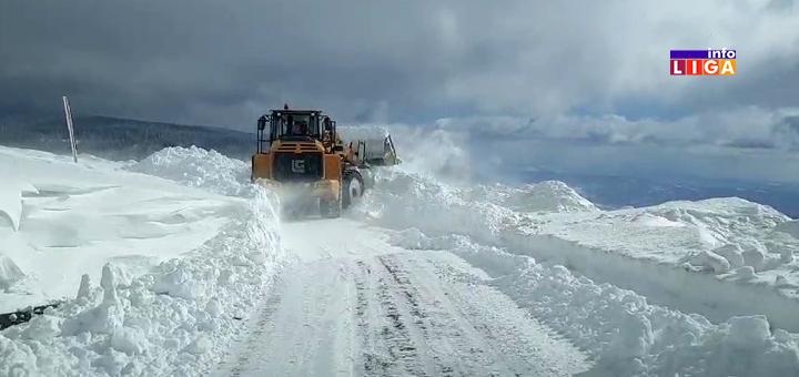IL-Odvracenica-neprohodan-put- Snežni smetovi na Goliji blokirali put prema Odvraćenici