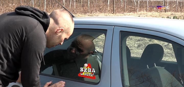 IL-beba-u-autu- Ivanjica - Mladi policajac spasao šestomesečnu bebu iz zaključanog auta (VIDEO)