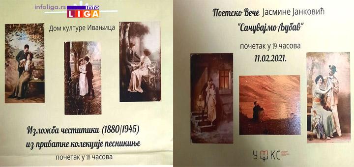 IL-poetsko-vece Poetsko veče i izložba starih čestitki (1880-1945) u Domu kulture Ivanjica
