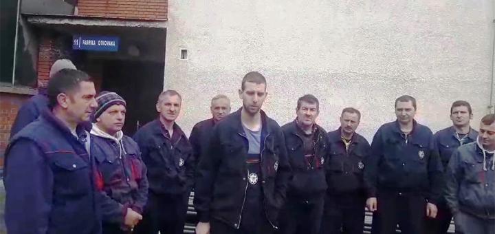 IL-Arilje-strajk-radnika-Proletera Radnici Proletera u štrajku, od marta nisu primili platu