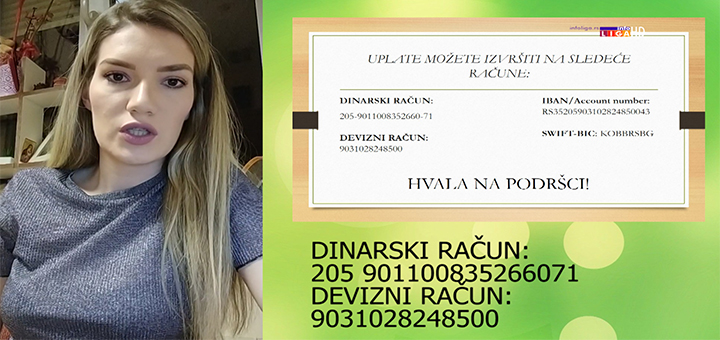 IL-Tanja-Lisanin- Humanitarna aukcijska prodaja potpisanih dresova VEČITIH za pomoć našoj Tanji (VIDEO)