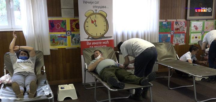 IL-dobrovoljni-davaoci-krvi Treća akcija Zimske kampanje DDK u Ivanjici (VIDEO)