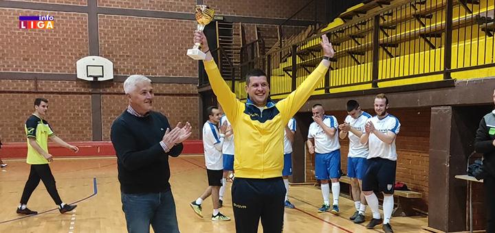 IL-Golija-2.mesto- Nagrađeni najbolji klubovi i pojedinci u Opštinskoj ligi malog fudbala Ivanjica (FOTO)