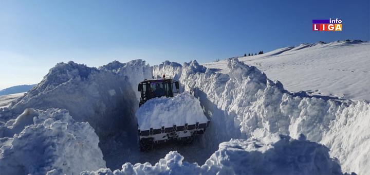 IL-Odvracenica-Golija-sneg Snežni smetovi na Goliji - oprez za volanom (VIDEO)