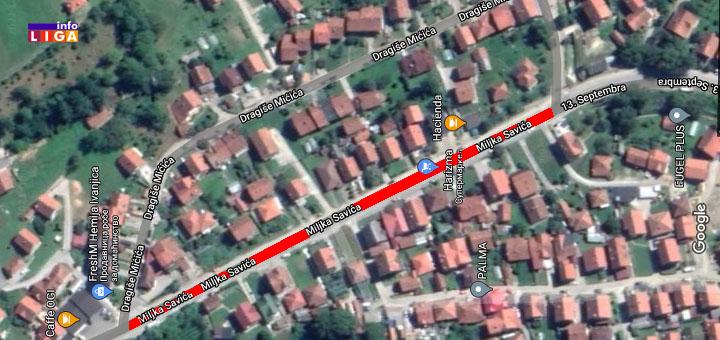 IL-miljka-savica Zbog neophodnih radova 15. i 17. aprila zatvoren deo ulice Miljka Savića