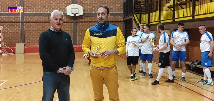 IL-najbolji-golman-OLMF Nagrađeni najbolji klubovi i pojedinci u Opštinskoj ligi malog fudbala Ivanjica (FOTO)