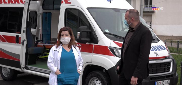IL-sanitetsko-vozilo Opština Ivanjica donirala Domu zdravlja sanitet (VIDEO)