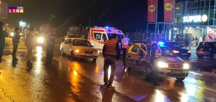 IL-saobracajna-nezgoda- Ivanjica- Udaren pešak u naselju Senjak (VIDEO)