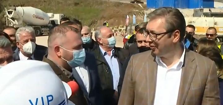 IL-vucic-i-mole Treća sreća! Vučić najvio nastavak radova na putu za Deviće za dve nedelje (VIDEO)