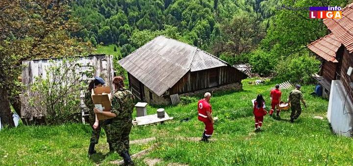 IL-Crveni-krst-vojska-1 Ivanjica: Vojni lekar na selu uz pomoć Crvenog krsta (FOTO)