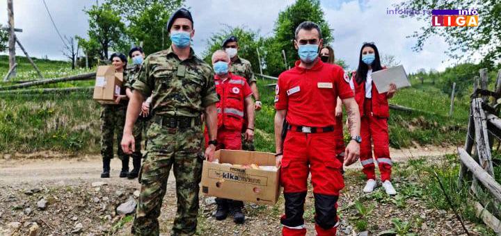 IL-Crveni-krst-vojska-sest Ivanjica: Vojni lekar na selu uz pomoć Crvenog krsta (FOTO)