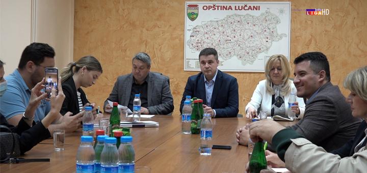 "IL-radni-sastanak-Lucani-Bogicevic-Dolovic Bogićević: ""Velika ulaganja države u poljoprivredu"" (VIDEO)"