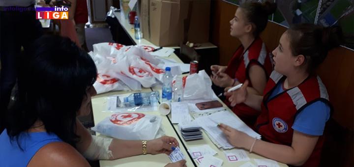 IL-Akcija-DDK-Ivanjica Uspešna akcija dobrovoljnog davanja krvi u Ivanjici