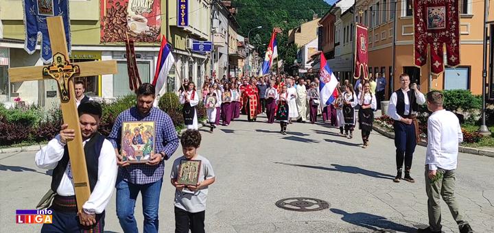 IL-litija-ivanjica- Litija ulicama Ivanjice povodom praznika Svete Trojice (VIDEO)