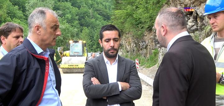 IL-naslovna-momirovic- Ivanjica - Ministar Momirović obišao radove na putu za Deviće (VIDEO)