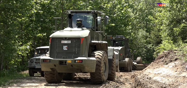 IL-rekonstrukcija-puta-na-Goliji- Vojska na Goliji radi punom parom (VIDEO)