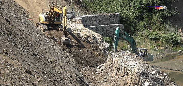 IL-Obalouvrda-tekst- Ivanjica: Počeli radovi na saniranju posledica poplava duž korita reke Moravice (VIDEO)
