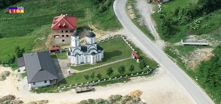 il-CRKVA-SV-PETRA-I-PAVLA- Ivanjica: Vladika Justin na slavi crkve u Lisi