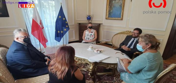 IL-Poljska-ambasada-Dom-zdravlja Donacija ambasade Poljske Domu zdravlja u Ivanjici