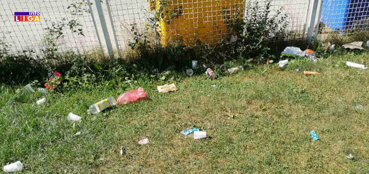 IL-smece- Huligani uništavaju objekte i dvorišta vrtića u Ivanjici