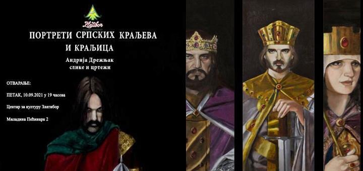 IL-Izlozba-Zlatibor-Srpski-kraljevi Portreti srpskih kraljeva i kraljica