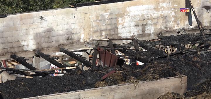 IL-pozar-ocokoljici-tekst- Veliki požar u Ivanjici: Gorelo 4 300 bala sena , tone pšenice, poljoprivredne mašine (VIDEO)