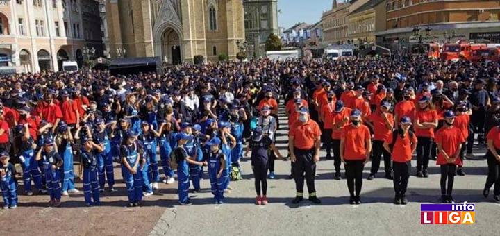 IL-trg-miletica-novi-sad Ivanjičani na smotri 200 dobrovoljnih vatrogasnih društava Srbije u Novom Sadu (FOTO)